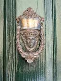 An old style door decoration. Rabat. Malta