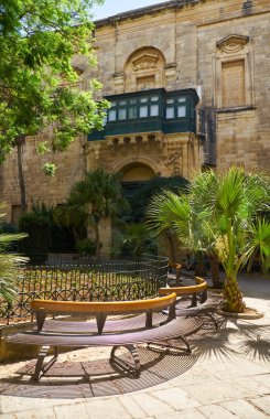 The Prince Alfred's Courtyard of the Grandmaster's Palace. Valle