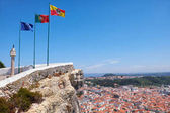 Európai Unió portugál zászló Nazare zászlót Na zászlói