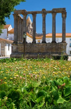 Temple of Diana. Evora. Portugal