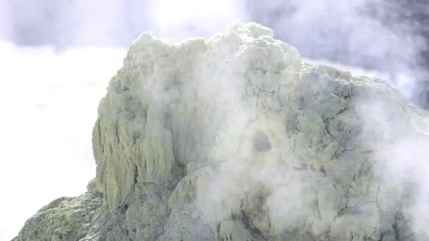 Volcanic Activity, Sulfur Fumarole