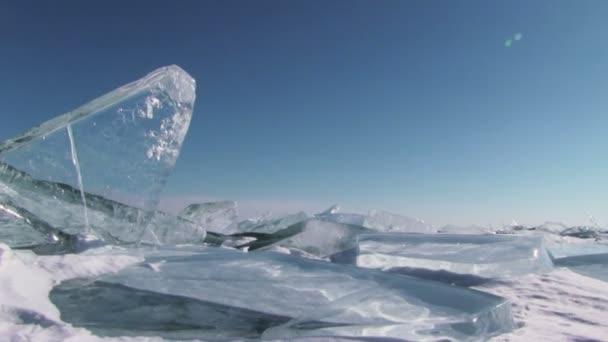 zimní jezero Bajkal