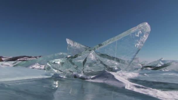Téli Bajkál-tó