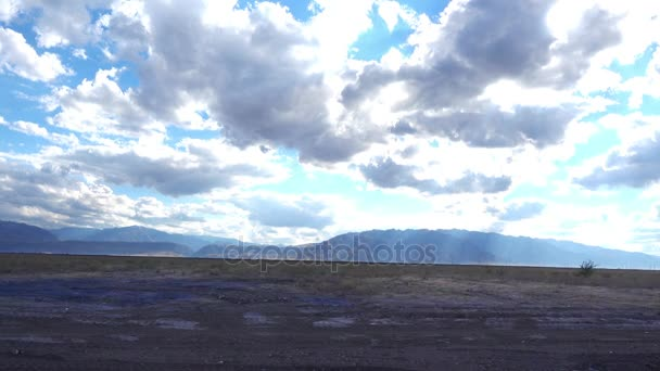 beautiful landscape with mountains and cloudy sky