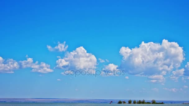 beautiful clouds background nature scenic view