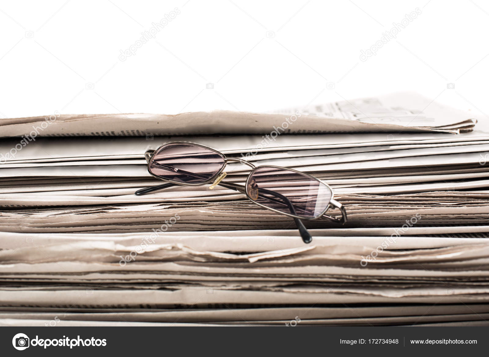 a stack of newspapers — stock photo © ksena32 #172734948