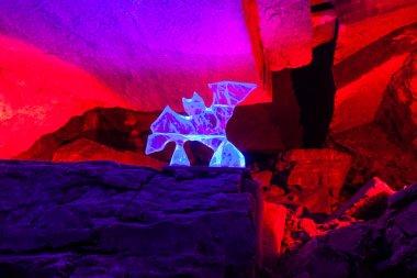 Dante grotto in Kungur ice cave