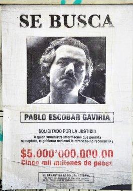 Wanted Pablo Escobar