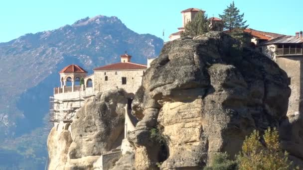 The Varlaam monastery in Meteora, Greece