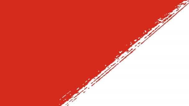 Rusya Rus Bayrağı çizim Tarafından Fırça Vuruşları Bayrağı Stok