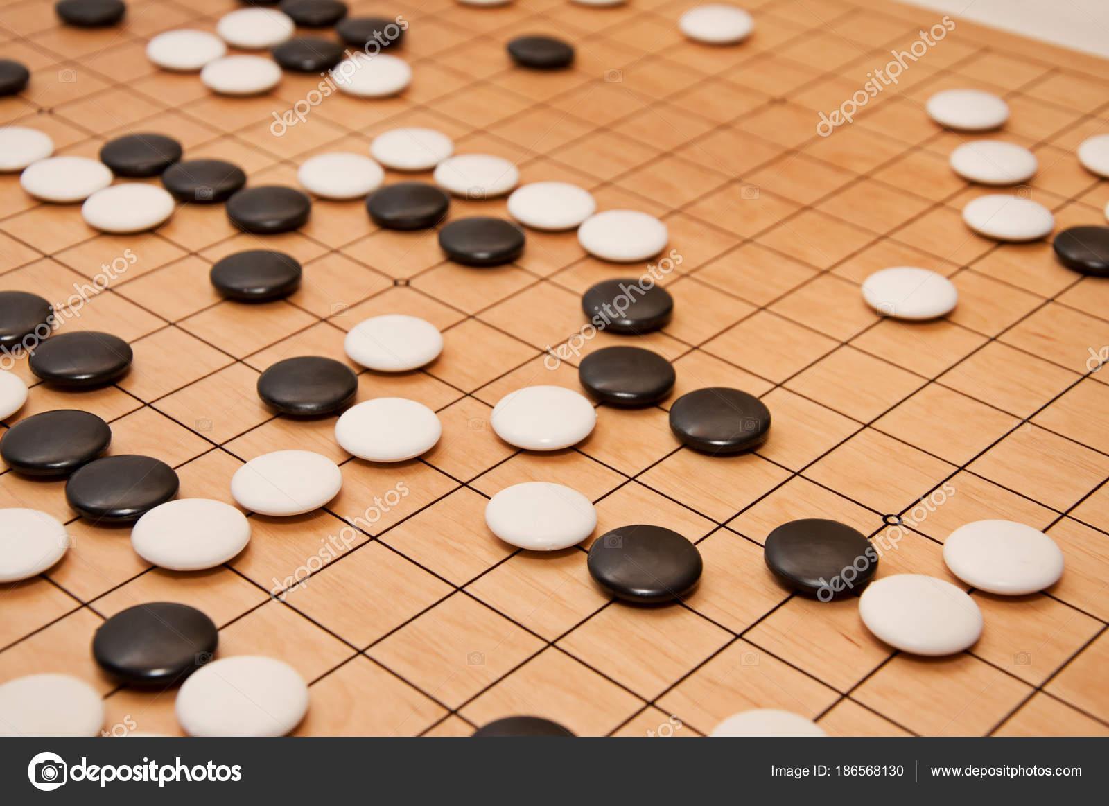 check out 1028b 6d8f7 Reception per gioco da tavolo Go — Foto Stock © nataly0288dp ...