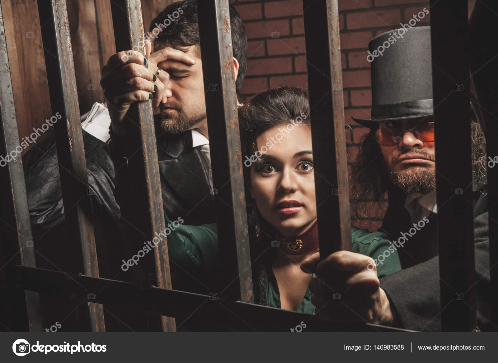 Behind bars two