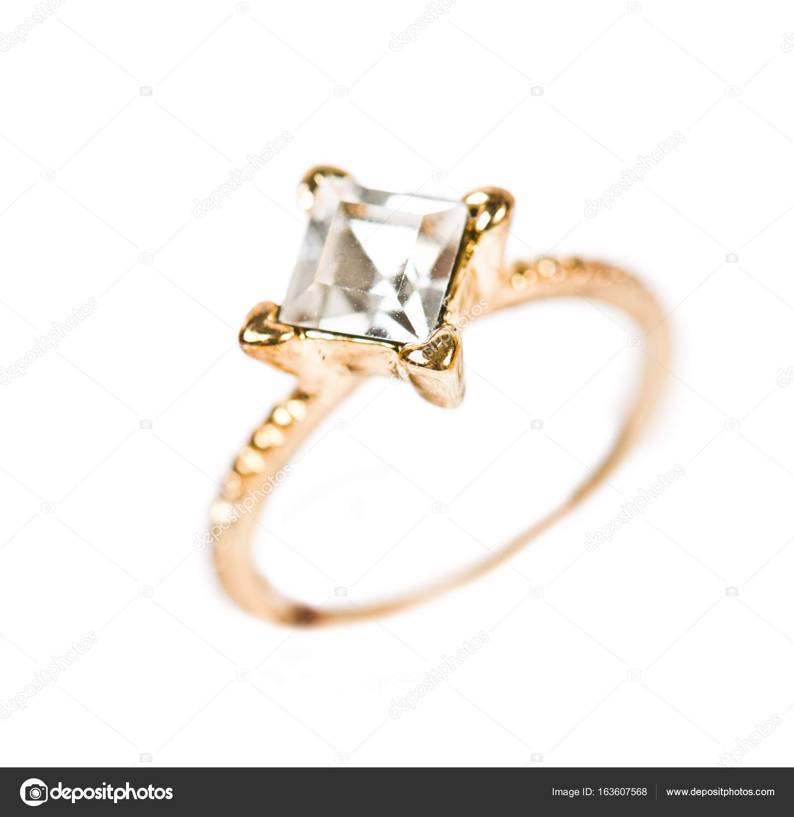 Beautiful golden ring — Stock Photo © valphoto #163607568