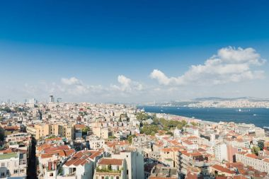 Picturesque view of Istanbul cityscape
