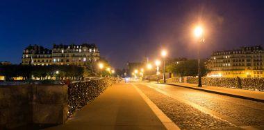 Tournelle bridge at night