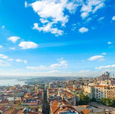 beautiful Istanbul skyline