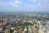 Chicago během slunečného dne