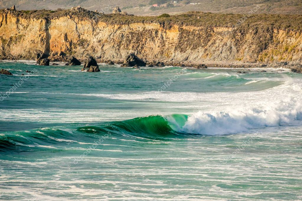 Pacific coast in California