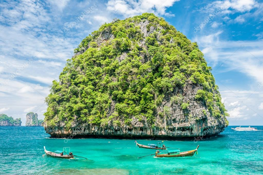 uninhabited island in Thailand