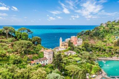 Picturesque view of Portofino village