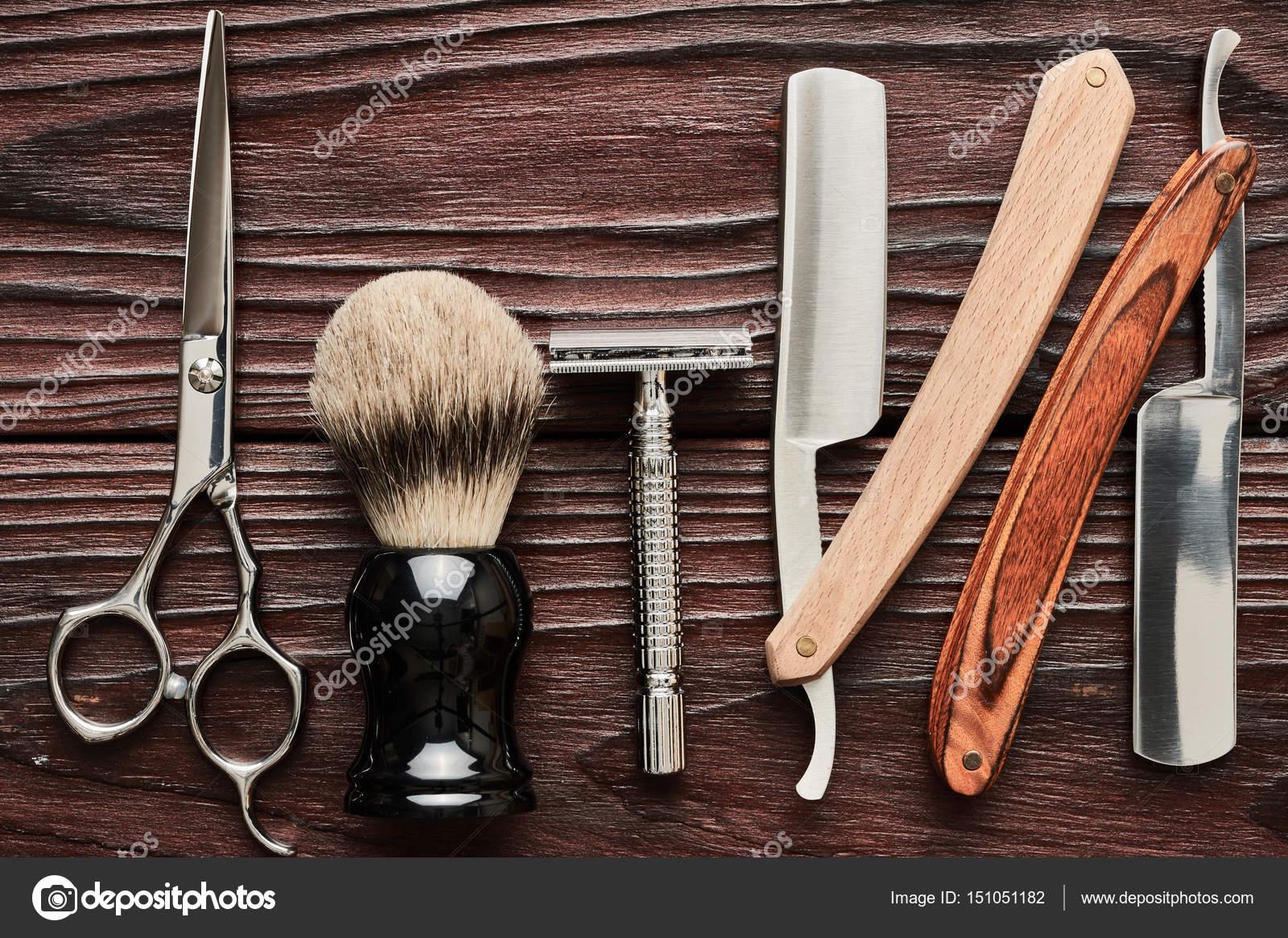 Vintage Barber Shop Tools Stock Photo 169 Haveseen 151051182