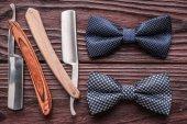 Barber shop straight razor tools