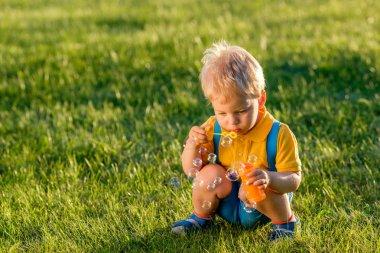 Portrait of toddler child