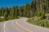 Autostrada a Parco nazionale Yellowstone
