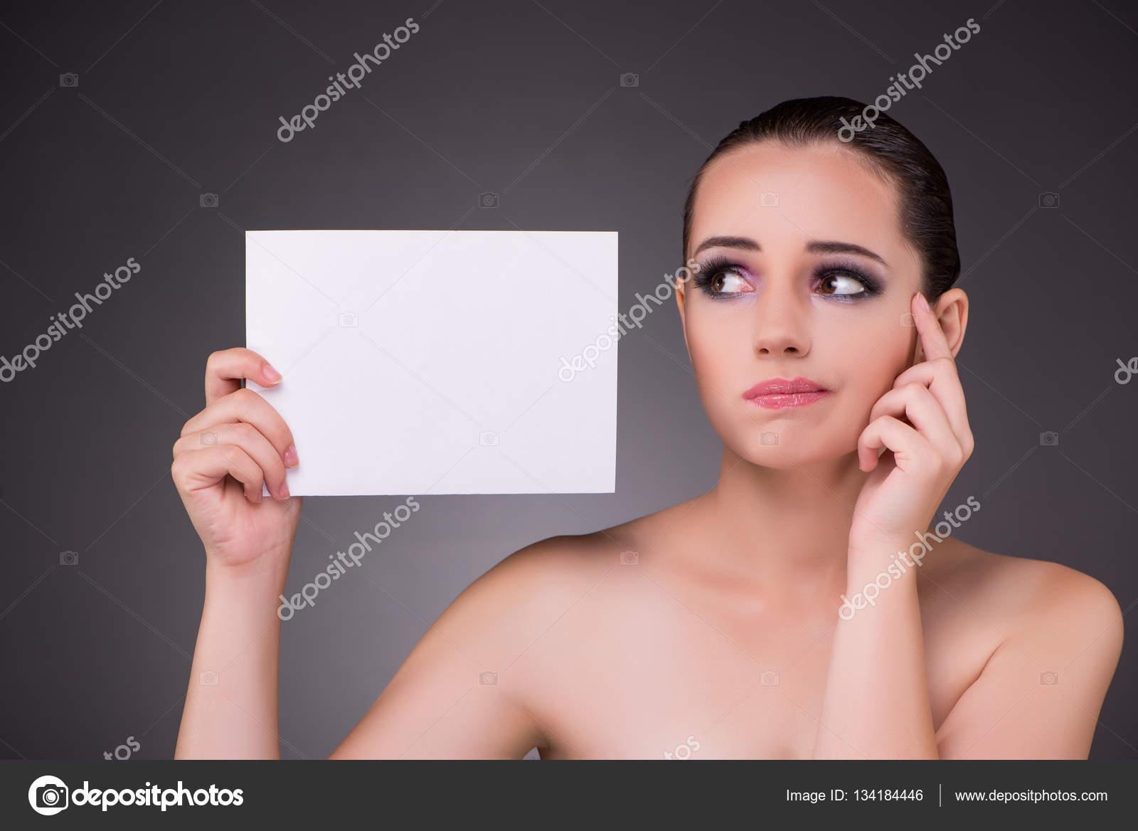 Beautiful woman message