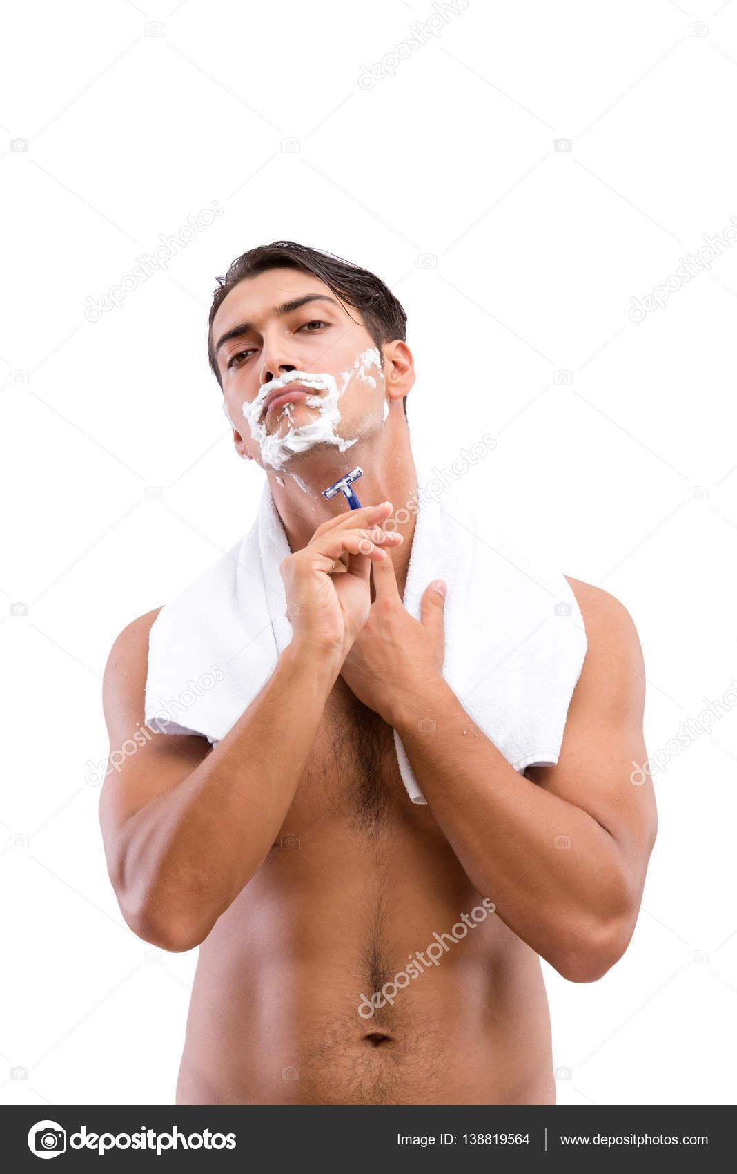 Интимное бритье мужчин видео извиняюсь