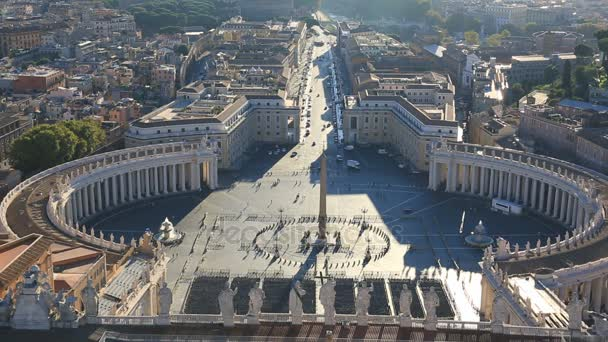 View from the dome of St. Peters Cathedral, Vatican city