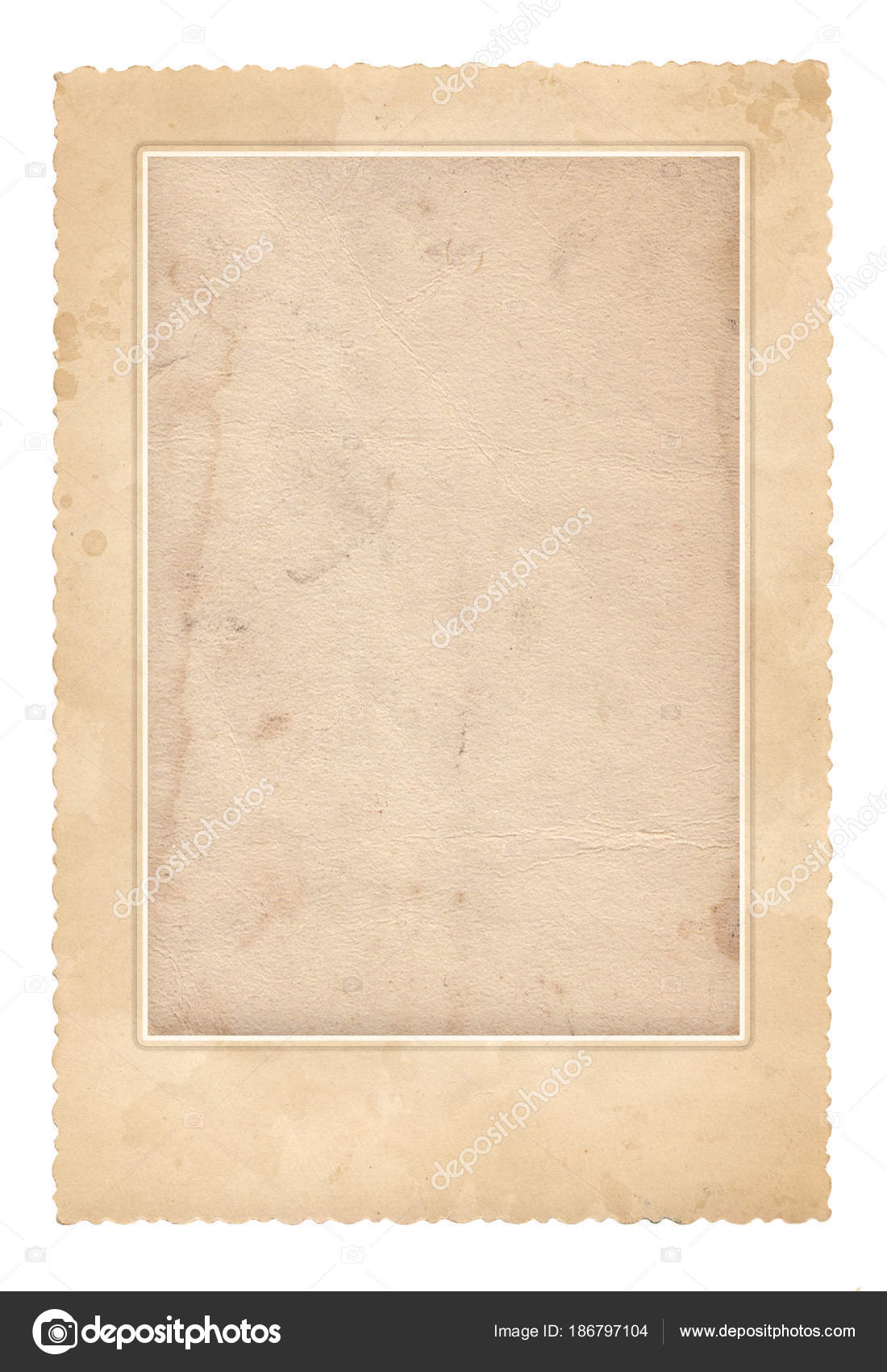 Alte Bilderrahmen. Vintage-Papier. Retro-Karte — Stockfoto ...