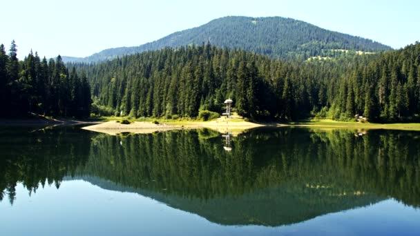 Ukrajnai Kárpátokban tó Szinevéri-tó