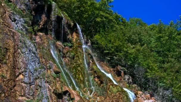 vodopády v národním parku Plitvická jezera