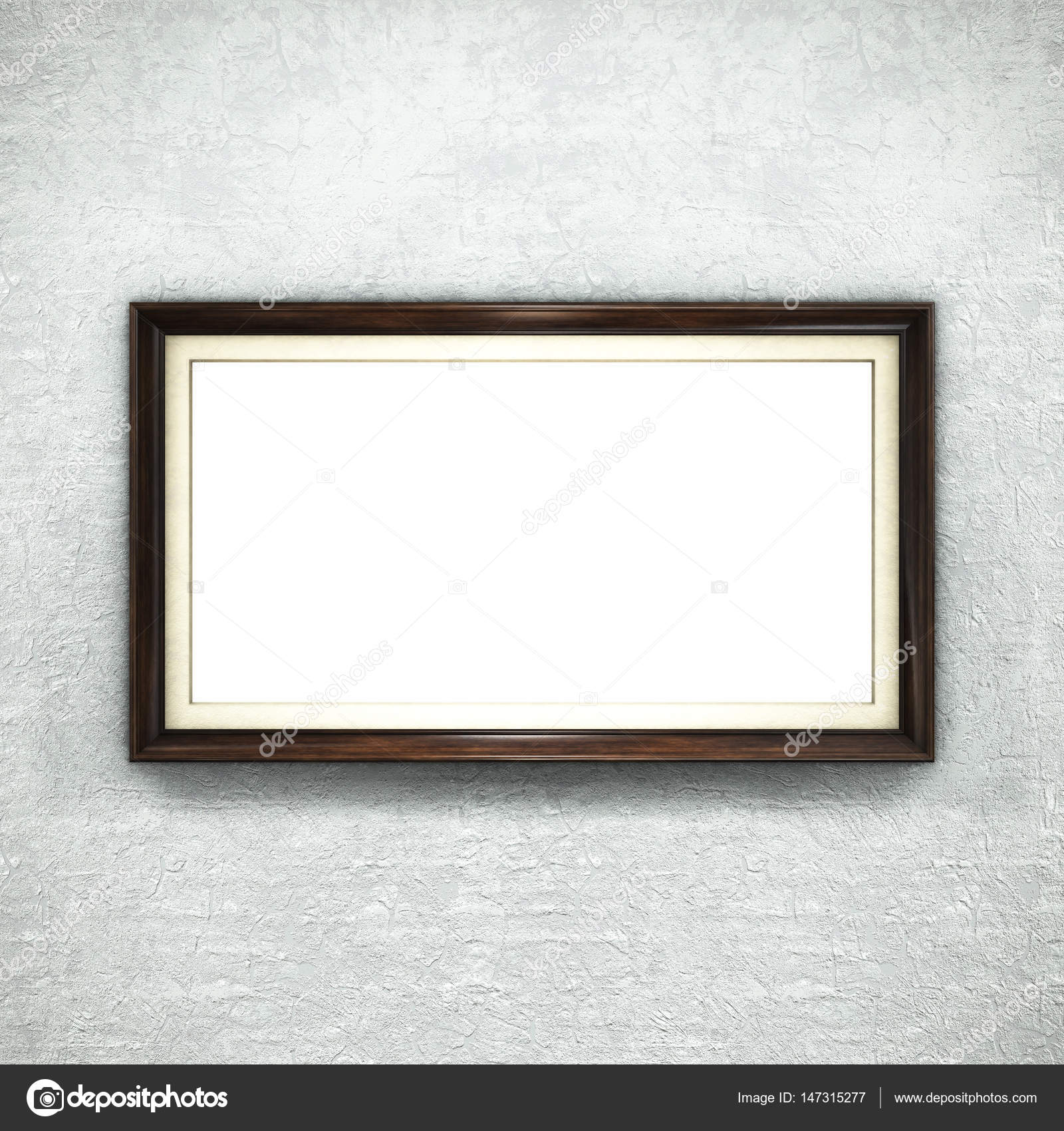 Marco de madera en el fondo de pantalla — Fotos de Stock © Irochka ...