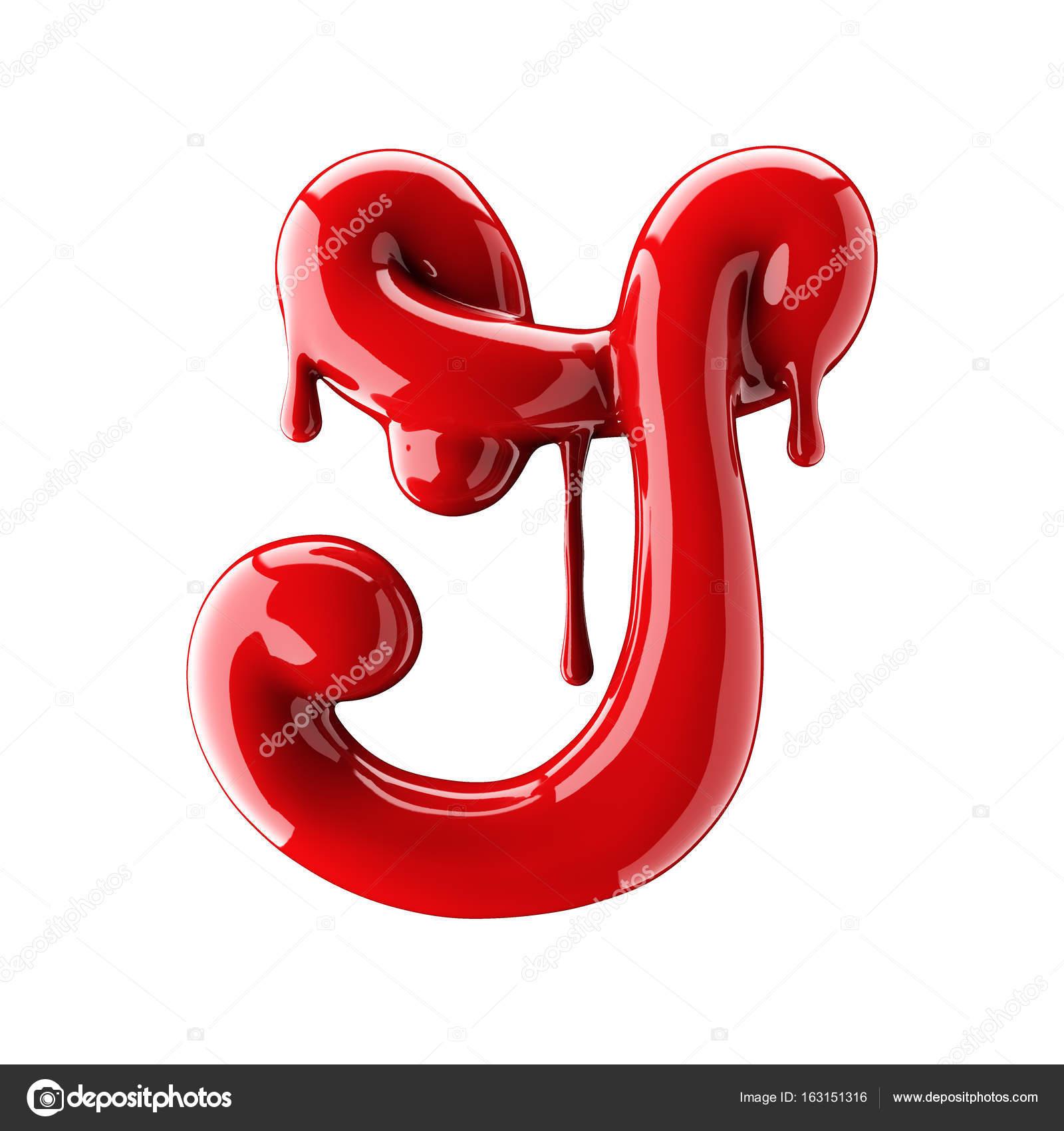 Leaky red alphabet isolated on white background handwritten cursive leaky red alphabet isolated on white background handwritten cursive letter j stock photo buycottarizona Gallery