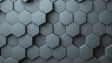 Abstract Hexagons Background