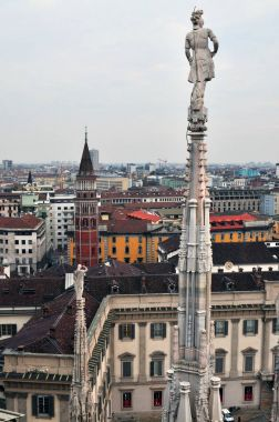 Milan, Italy. View on Royal Palace - Palazzo Realle