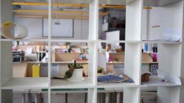 modern empty workshop for education