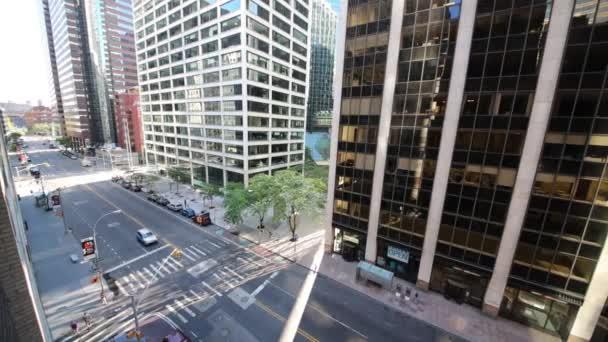 ulice s některých vozů v New Yorku