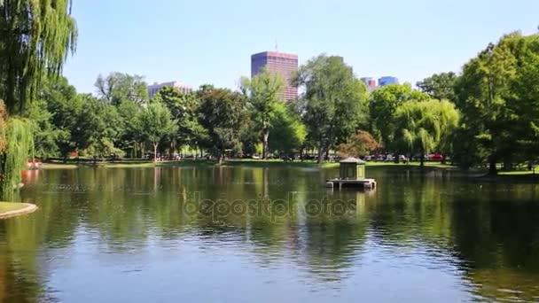 Boston veřejné zahrady