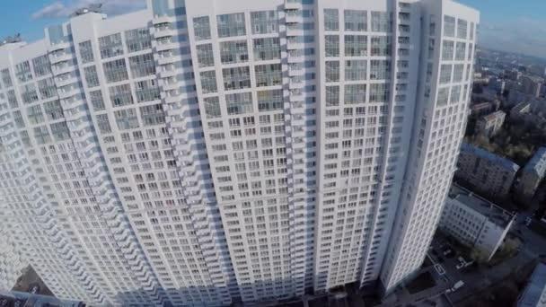 Rezidenční komplex Aerobus proti panoráma