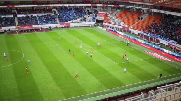 hra mezi Dinamo a lokomotiva týmy