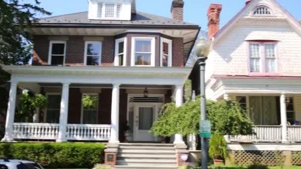 Häuser in Wohnviertel in Washington