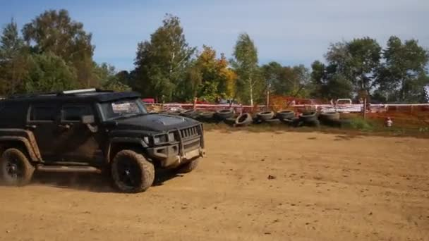 Hammer in off-road competition RainForest Challenge Russia