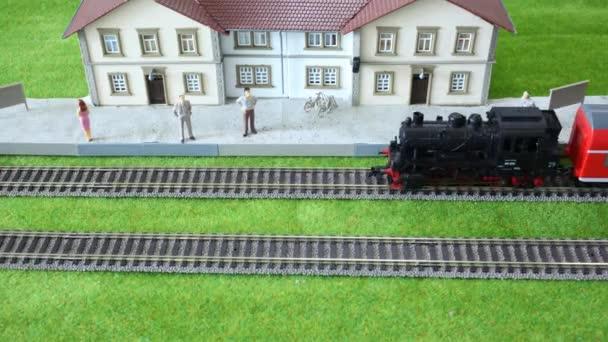 model vlakové nádraží