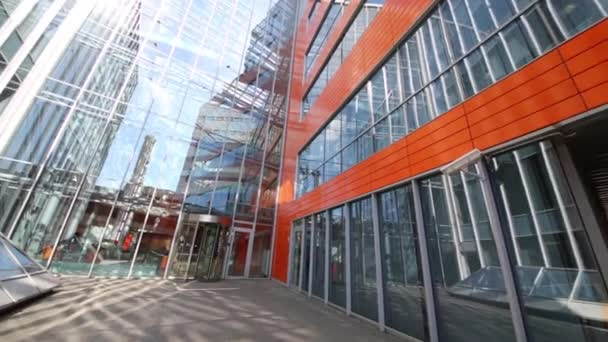 MOSCOW - MAY 20, 2015: Business Center Silver City. Business-center Silver City is complex of two modern buildings 7 and 9 floors