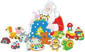 Fotografie Geschenke von Santa claus