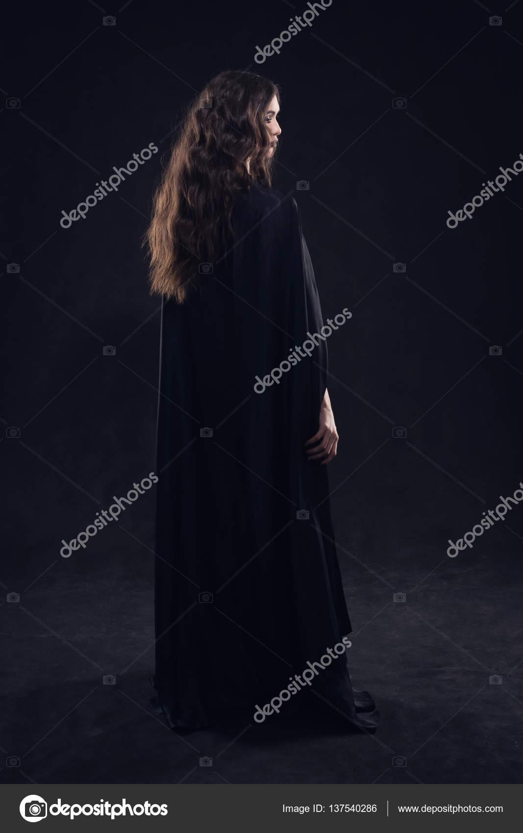 Gothic girl naked