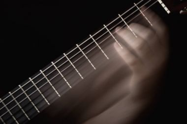 Guitarist Hand Playing
